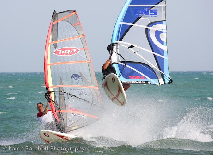Windsurfing Technique Photoshoot for Boards Magazine, El Yaque, Venezuela