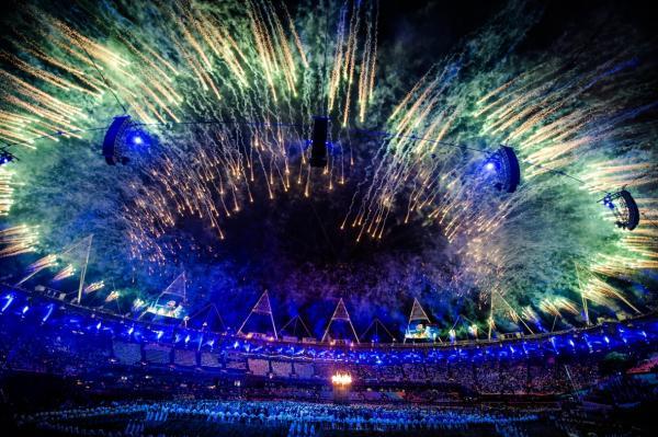 2012 London Olympic Stadium Opening Ceremony