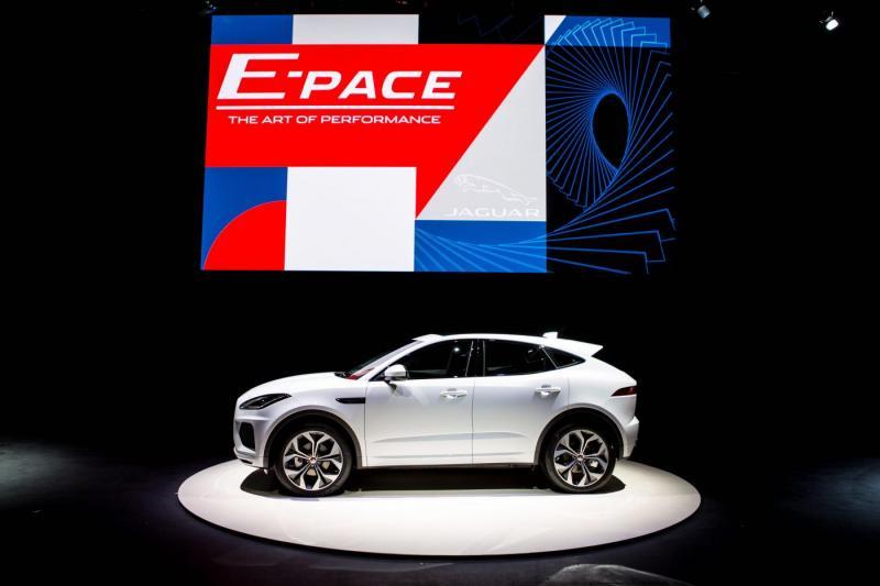 Jaguar E-PACE World Premiere