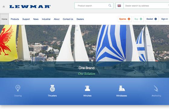 Lewmar Marine Product Photoshoot