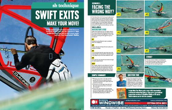 Windsurfing Technique Article ofr Boards Magazine